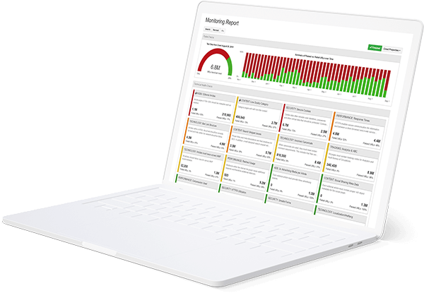 Illustration of Monitoring Dashboard